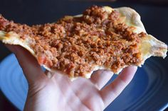 Learn how to make lahmacun, a Turkish favorite!  -From Bon Appetit Baby!