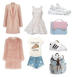 """Geen titel #21"" by fe-arensdorff on Polyvore featuring schoonheid, Miss Selfridge, Alex Perry, NIKE, La Cartella, Topshop Unique, WithChic, adidas en Aéropostale"