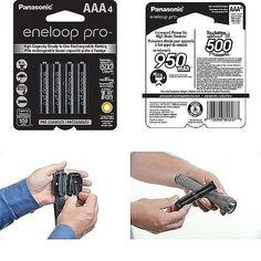 Panasonic Eneloop XX Batteries (aaa 4 Pk) for sale online Appliances