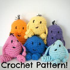 Toy Monster PDF Crochet Pattern Uglies by chanteusecrochet on Etsy