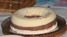 1º creme: - 3 gemas - 1 lata leite condensado - 1 lata leite vaca - 2º creme: - 1 lata de leite condensado - 1 colher sopa maizena (dissolvida no leite) - 1 lata de leite de vaca - 4 colheres de Nescau - 3º creme: - 3 claras batidas em neve - 3 colheres sopa acúcar - 1 lata de creme de leite - Kfc, Pomegranate Juice, Bagel, Doughnut, Cheesecake, Bread, Desserts, Recipes, Gardening