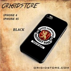 House Lannister Casterly Rock Her Me Roar For Iphone 4/4S Case Gift Present - Multiple Choice Material