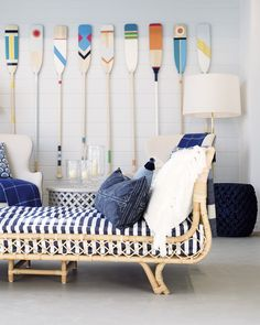 Modern Nautical Navy Stripe Decor & Design Ideas from Serena & Lily - Coastal Decor Ideas Interior Design DIY Shopping Nautical Bathroom Design Ideas, Nautical Interior, Nautical Home, Nautical Style, Nautical Deck Ideas, Nautical Room Decor, Nautical Kitchen, Nautical Design, Rustic Nursery