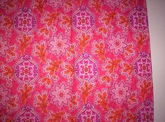 Pink Batik Cotton - Printmaker. Love it and it has been my inspiration for years.     Pink thing: