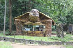 The Turtle shaped tea/curious stall / Thekkady, India