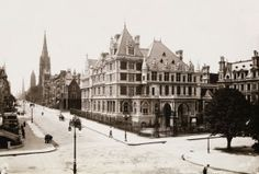"""""""What do I care about law? Ain't I got the power?"""" -- Cornelius Vanderbilt    Cornelius Vanderbilt II house, 1882, designed by George B. Post, expanded in 1894, and photographed circa 1908, at Fifth Avenue and 57th Street.    The Most Spectacular Mansions from Manhattan's Gilded Age, Vanity Fair"""