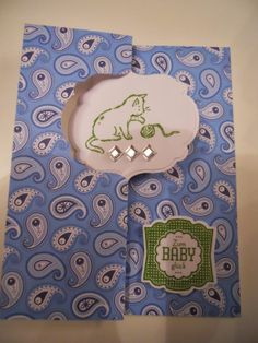 United Papercreations: Babyalarm! / baby alert! 3 The Unit, Frame, Cards, Baby, Decor, Paper, Book Folding, Packaging, Gifts