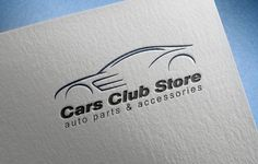 Cars Club Store Logo by jwizard store on Creative Market