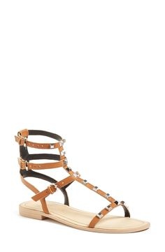 ead9413a9a521a Rebecca Minkoff  Georgina  Studded Leather Sandal (Women) available at   Nordstrom Studded