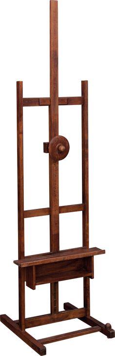 Malířský stojan s paletou Wine Rack, Auction, Storage, Furniture, Home Decor, Purse Storage, Decoration Home, Room Decor, Larger