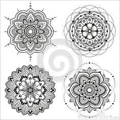 Beautiful Deco Mandala (Vector) Royalty Free Stock Images - Image: 35478859