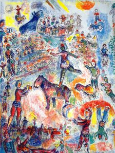 Great Circus, 1984, Marc Chagall