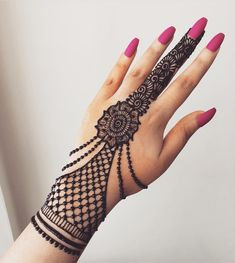 50 Most beautiful Jewelry Mehndi Design (Jewelry Henna Design) that you can apply on your Beautiful Hands and Body in daily life. Henna Hand Designs, Mehndi Designs Finger, Mehndi Designs For Kids, Henna Tattoo Designs Simple, Mehndi Designs For Beginners, Mehndi Design Photos, Mehndi Designs For Fingers, Beautiful Henna Designs, Modern Mehndi Designs