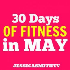 Join us for our FREE 30-day summer challenge! Starts May 1st :-)