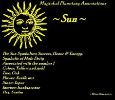 ~ Sun ~ Chinese Astrology, Astrology Zodiac, Astrology Planets, Zodiac Signs, Wiccan Spells, Witchcraft, Sun Worship, Good Day Sunshine, Star Wars