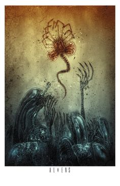 Alien - Ben Templesmith - ''Alien Visions'' ----