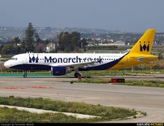 Monarch Airlines Airbus A320 (G-OZBW) Málaga (AGP)