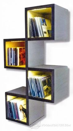 Wall Shelves Plans - Woodworking Plans and Projects   WoodArchivist.com