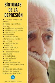 Conoce los principales síntomas de la depresión:   #depresión Milton Erickson, Bulimia Recovery, Magic Words, Biologique, Psychology Facts, Emotional Intelligence, Healthy Mind, Mental Health, Anxiety