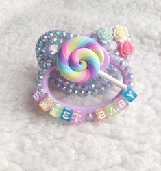 Daddy's Little One Daddys Little Princess, Daddy Dom Little Girl, Daddys Girl, Little Babies, Ddlg Pacifier, Bling Pacifier, Trendy Baby, Ddlg Outfits, Boy Outfits