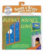 Goodnight Moon Book and CD (Spanish edition)  By Margaret Wise Brown   Illustrated by Clement Hurd