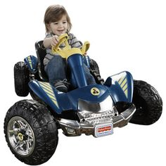Fisher-Price Power Wheels Lil' Dune Racer 6-Volt Battery-Powered Ride-On