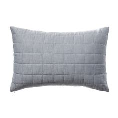 Featuring a contemporary quilted grid design, the Macedon cushions add stylish texture to any home decor. Created from a blend of linen and cotton, they are hard wearing and long lasting.