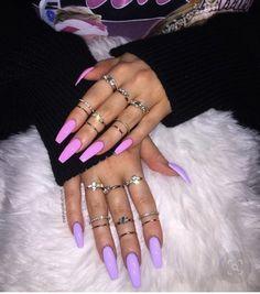 Bright Summer Acrylic Nails, Summer Nail Polish, Bright Nails, Purple Nails, Nail Art Designs, Colorful Nail Designs, Nails Design, French Nails, Nails First