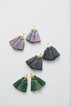 Hello Holiday · Tassel Earrings