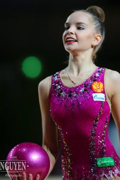 Dina AVERINA (Russia) ~ Ball @ Grand Prix Thiais 2017 Tuan NGuyen.