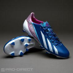 adidas adizero F50 TRX FG SYN Boots - Blue/White/Pink