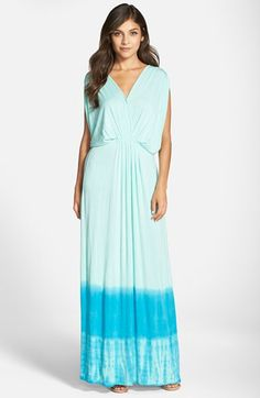 Fraiche+by+J+Dip+Dye+Maxi+Dress+available+at+#Nordstrom for Mama?