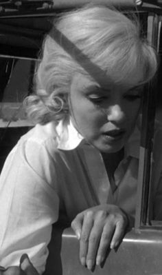 In a scene from The Misfits