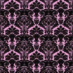 black and pink  design