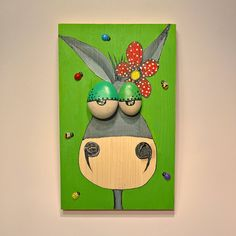 Donkey Art Funny Painting Funny Art Donkey Kids Painting