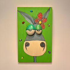 Donkey Art Funny Painting Funny Art Donkey Kids Painting