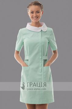 Spa Uniform, Scrubs Uniform, Uniform Dress, Dental Uniforms, Beauty Uniforms, Blouse Nylon, Nylons, Scrubs Outfit, Lab Coats
