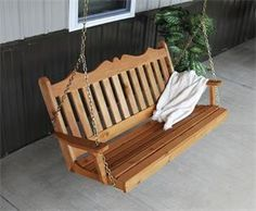 Amish Cedar Wood Royal English Swing