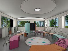 Propuesta de Diseño de Aulas Preescolares on Behance