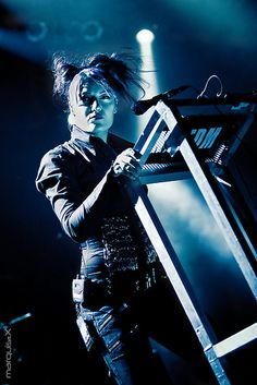 KMFDM, Gothic Festival Waregem 2009 by marquis(pi)X, via Flickr Industrial Bands, Industrial Music, Rock Music, My Music, Skinny Puppy, Punk Goth, Chris Cornell, Music Photo, Post Punk