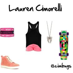 Lauren Cimorelli  Subscribe to them on YouTube!! @Cimorelli Band