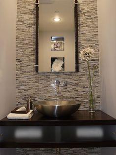 25 Modern Powder Room Design Ideas Half Bathroom Ideas Bathroom - Modern-half-bathroom