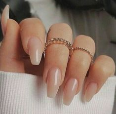 nails natural look manicures - nails natural look ; nails natural look gel ; nails natural look acrylic ; nails natural look short ; nails natural look manicures ; nails natural look with glitter ; nails natural look almond ; nails natural look simple Neutral Nails, Nude Nails, My Nails, Neutral Nail Designs, Nails Today, Neutral Colors, Blush Pink Nails, Baby Pink Nails, S And S Nails