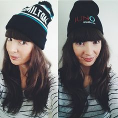 Kristin Archer in Hamilton toque from White Elephant and official JUNOs toque