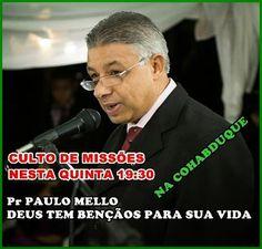 CAMINHOS DO PENSAMENTO: Em São Léo com Pastor Laurentino Mello
