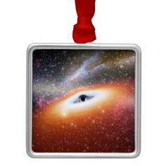 NASA Black Hole Christmas ornament