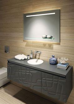 Bathroom Origins Accessories | Mirror Fusion Light 100