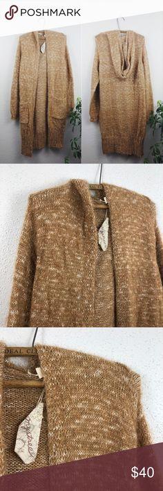 Mesh Sweater Sleeveless Long Cardigan