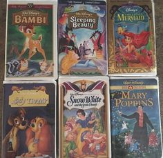 Bambi (VHS) / Sleeping Beauty/ / Little Mermaid / Lady In The Tramp / Snow White 12257942033 | eBay