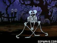 gif de esqueletos - Pesquisa Google